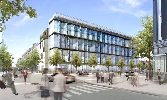 Immeuble de bureaux paris valode pistre realisation - Restaurant porte des lilas ...