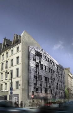 LOGEMENTS SOCIAUX, Paris, Chartier-Corbasson - Realisation